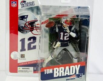 McFarlane's Sportspicks Series 11 Tom Brady Action Figure New England Patriots