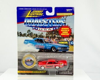 Johnny Lightning Dragsters USA Limited Edition '58 Christine 1/64 Diecast