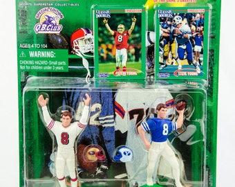 Starting Lineup Classic Doubles NFL Steve Young 49ers & BYU Action Figure