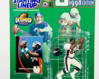 Starting Lineup 1998 NFL Shannon Sharpe Action Figure Denver Broncos