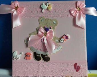 pretty picture 20/20 cm birthstone girl Theme