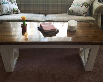Deluxe Farmhouse Coffee Table