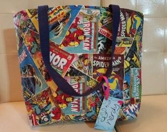 Avengers Comic Book Tote Bag