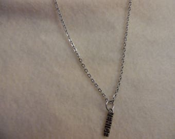 """charmed necklace 18"""""""