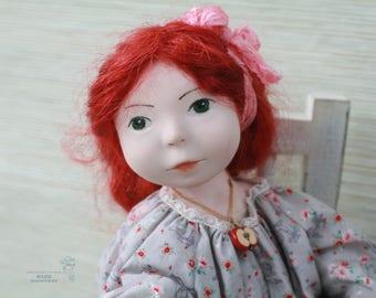 "Artist doll ""Redhead Sonia"""