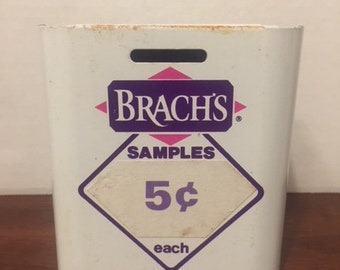 Vintage Advertising Brach's Candy Company  Display Coin Bank