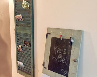 Chalk Sign with 3 hooks