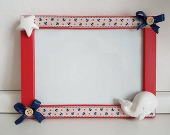 12 x 18 frame with plaster decorations