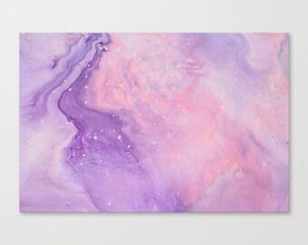 Original Abstract Wall Art Print, A2, A1, Home Decor, Interior, Fairy Floss
