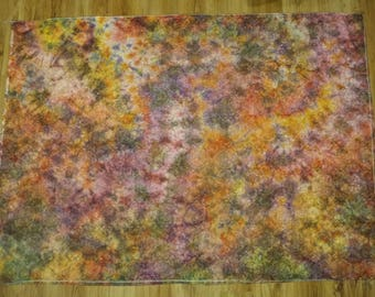 Tablecloth / Decoration / Wall / Psychedelic / Tie Dye/ TieDye / Hand made / Colors / Psytrance