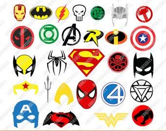 Superhero Logo Masks svg design/Superhero svg dxf eps png pdf files/Superhero Clipart Kids/Superhero Clipart/Superhero svg for silhouette