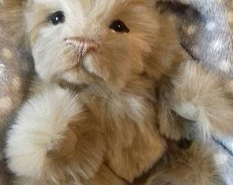 CLARA - Lion Cub Tattie Bear handmade artist bear OOAK