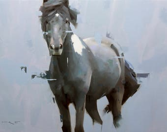 Icelandic Horse #15 - Print