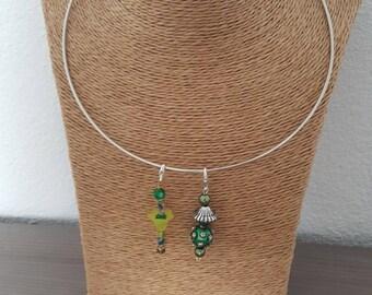 Green - jewelry: handcrafted jewellery
