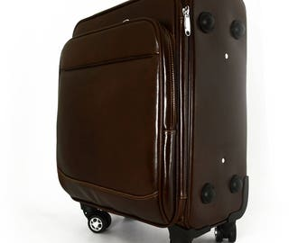 Genuine Leather Trolley