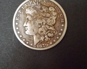 Morgan Silver Dollar 1878-S 7T(7 Tail Feathers)