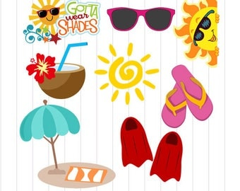 INSTANT DOWNLOAD - Pool Party Cut Files, Pool Party Svg, Pool Party Girls Cutting Files, Pool Party Clipart, Summer Clipart,Pool Party Theme
