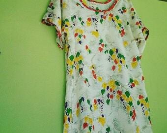Silk vintage fabric (Lrg)