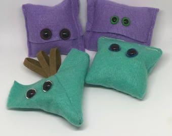 Handmade Monster Catnip Toys