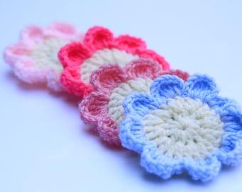 Crochet Daisy Hair clip