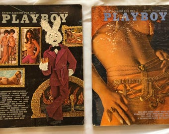 Playboy 1971 January and February