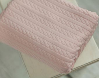 Blush Pink Newborn Beanbag Fabric, Pink Newborn Beanbag Fabric, Newborn Photography Fabric, Newborn Posing Fabric, Newborn Photo Prop, RTS