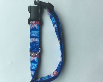 Frozen Themed Dog Collar