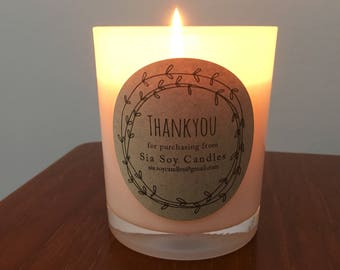 Soy Candle 100% Soy wax