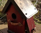 Small Rustic Birdhouse