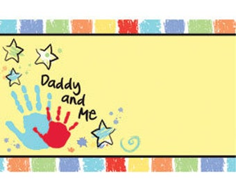 50 Gift  Tags, Florist Blank Enclosure Cards ,Small  Hang Tags Crafts , Daddy and Me