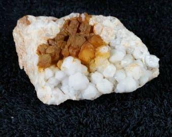 Milky quartz cluster