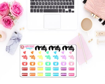 Wash Day Planner Stickers