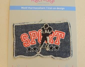 Heat-sealed badges for clothing