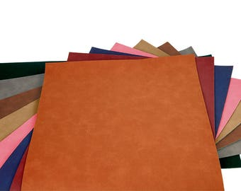 Faux leather sheets etsy for Leather sheets for crafting