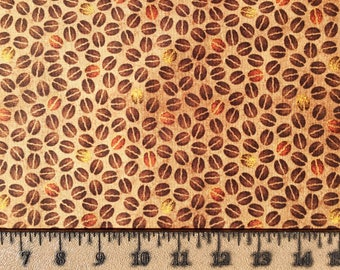 Quilting Treasures Daily Grind 164l9-21678-A Cotton Fabric By the Yard