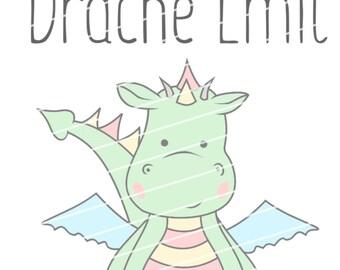 Plotter file Dragon Emil / cutting file Dragon Emil
