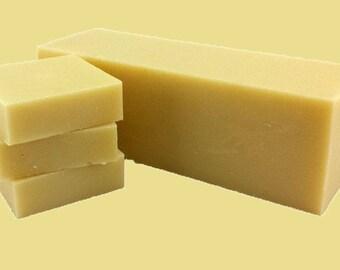 Natural Organic Bay Rum Cold Process Soap LOAF