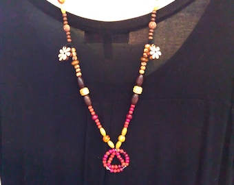 Flower Child AA Necklace