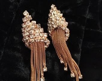 Beautiful 1950s/1960s chandelier earrings.