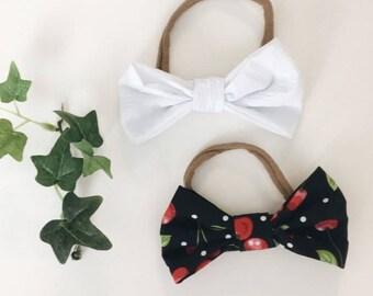 Cherry headband set
