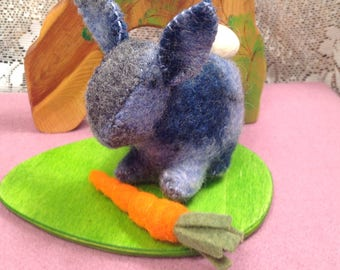 Blue Argyle Bunny Pal