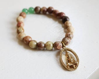 Beautiful Buddha Bracelet with Unique Charm