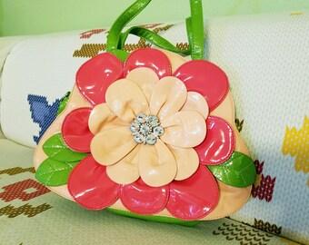 Vintage Flower Handbag