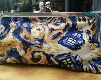 Dr. Who clutch purse