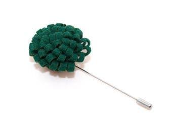de MORÉ - emerald-green corsage