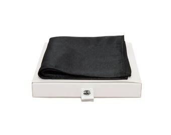 de MORÉ - black classic handkerchief