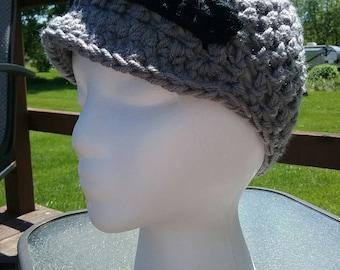 Brimmed Beanie Hat