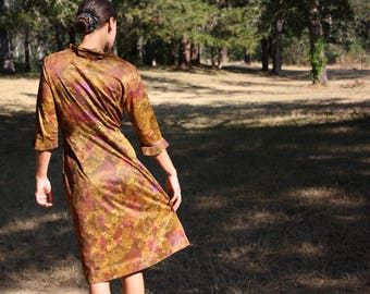 1960's Vintage Claire Tiffany Mad Men Office Dress