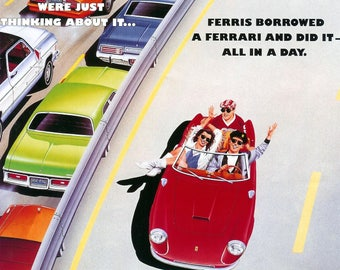 Ferris Buellers Day Off Movie poster