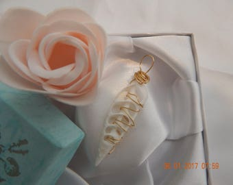 Crystal and Seashell Jewelry